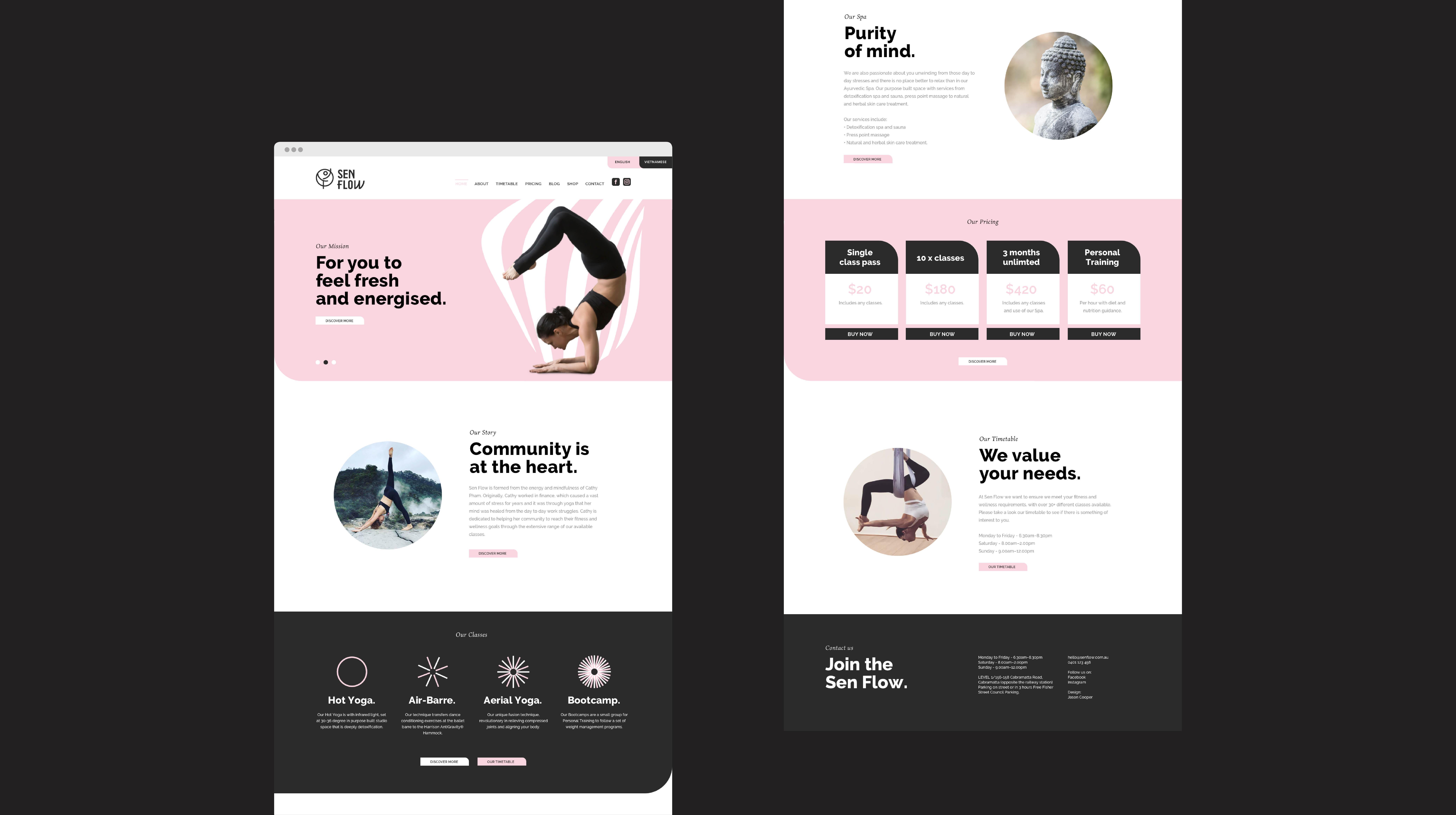 Sen Flow-Website.